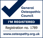 General Osteopathic Council Registration No. 1789